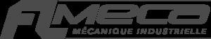 Logo FL MECA gris foncé